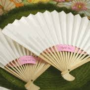 paper fans for weddings wedding fans things favors