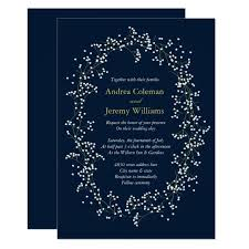 babys breath sweet baby s breath wedding invite zazzle