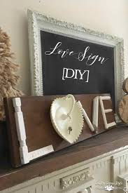 love sign diy country design style