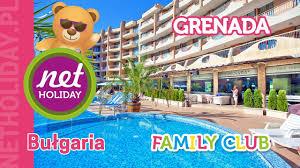 hotel grenada 4 family club bułgaria słoneczny brzeg