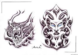 biomechanical tattoos and designs page 173