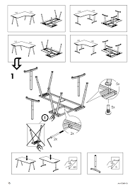 how to assemble ikea desk assembling an ikea desk part 2 dave s ensler