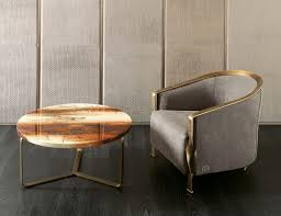 Leather And Wood Coffee Table Nella Vetrina Rugiano Egidio 9061 86db Painted Wood Coffee Table