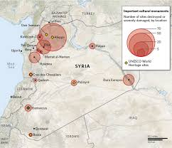 Palmyra Syria Map by Syrian U0027monuments Men U0027 Race To Protect Antiquities As Looting