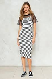 line after line striped maxi dress shop clothes at nasty gal
