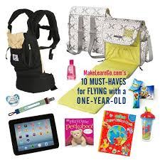 10 Must Essentials For A by 10 Must Haves For Flying With A One Year 1 Baby Carrier 2