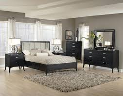 Gray Modern Bedroom Bedroom Mid Century Modern Bed Frame With Curved Back Headboard