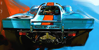 gulf racing wallpaper gulf porsche rear view milo 3oneseven good design just works