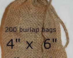 burlap favor bags burlap bags wedding burlap favor bags rustic wedding 100