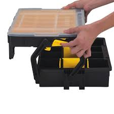 stanley tool chest cabinet portable tool box organizer plastic chest tools storage small parts