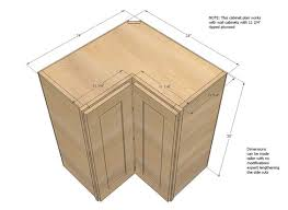 Kitchen Cabinet Drawings Ana White Build A Wall Corner Pie Cut Kitchen Cabinet Free And