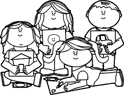kids image coloring page wecoloringpage