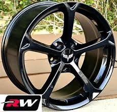 1989 corvette wheels for sale corvette wheels c6 grand sport gloss black rims 18 19 fit c4 c5