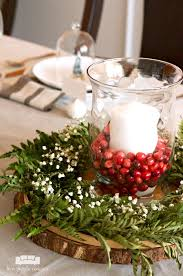 Easy Christmas Centerpiece - easy diy christmas centerpiece two purple couches
