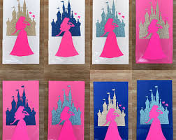 princess candy bags beauty and the beast princess castle birthday favor