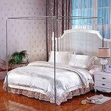 Bed Canopy Frame Amazon Com Stainless Steel Canopy Mosquito Netting Canopies Frame
