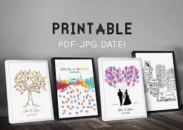 guestbook wedding wedding guestbook printable wedding guest book wedding tree