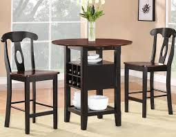 homelegance atwood 3 piece drop leaf counter height dining room