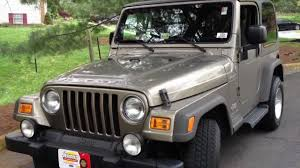 2005 jeep wrangler manual review walk around start up u0026 rev