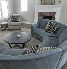 round sectional couch rounded sectional sofa foter