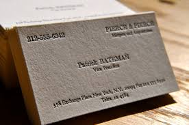Business Cards Perth Image Result For American Psycho Business Card Font Business