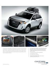 ford edge accessories 2012 ford edge brochure city ford waverly ford and clear la