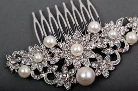 hair accessories online jewelled hair comb wedding accessories online bridal jewelry