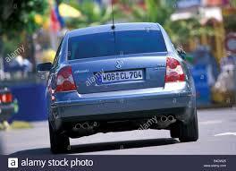volkswagen passat rear car vw volkswagen passat w8 limousine silver model year 2001