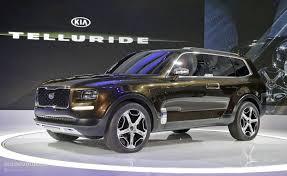 suv kia 2015 kia telluride concept mixes 400 hybrid hp sorento platform and