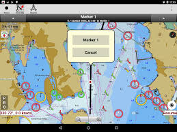 Lake Michigan Depth Map by I Boating Marine Charts U0026 Lake Fishing Maps Android Apps On