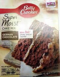 super moist german chocolate cake mix betty crocker 15 25 oz