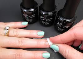 gel polish review madam glam honeydew adventures in acetone