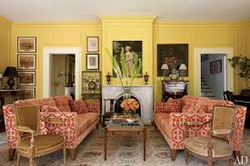 yellow livingroom radiant yellow rooms photos architectural digest