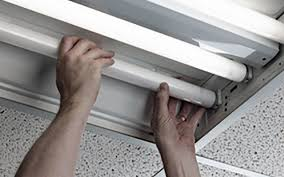 how to remove fluorescent light fixture and replace it changing fluorescent light fixture to regular light fixtures