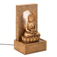 serene buddha fountain soul escape gift shop