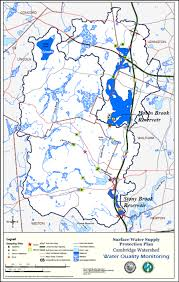 Lexington And Concord Map Watershed Maps Water City Of Cambridge Massachusetts