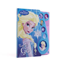 frozen books toys