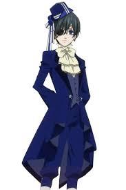Butler Halloween Costume Black Butler Kuroshitsuji Ciel Phantomhive Birthday Party Cosplay