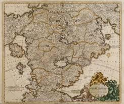 East Empire Shipping Map Accurata Utopiae Tabula Das Ist Der Neu Entdeckten Schalck Welt