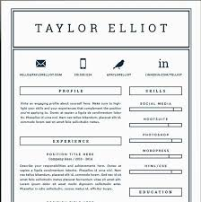 Sample Of One Page Resume by Resume One Page Template Billybullock Us