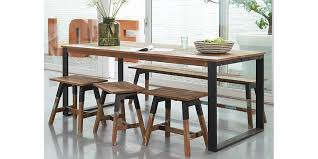 the look dining table bench seats by dbodhi from hunter furniture