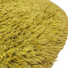 Colorful Shag Rugs Shag Carpet Circle Green Formdecor