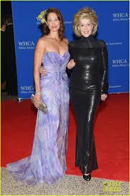 Ashley White by Ashley Judd U0026 Jane Fonda Meet Up At White House Correspondents