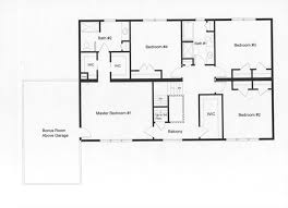 4 bedroom floor plans simple home design ideas academiaeb com