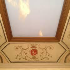 pittura soffitto rosone dipinto a trompe l oeil alessandra letteri