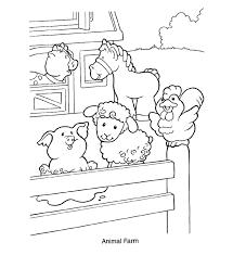 farm coloring pages getcoloringpages com