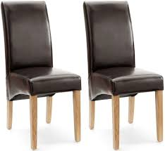 Faux Leather Dining Chairs With Chrome Legs Leather Dining Chair Online Wide Range Of Solid Chairs On Sale
