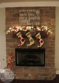 sunday open house christmas firstgraderoundup i sure hate that my mom bought this sign above my fireplace for her house and ended up unhappy with it wink the stockings are from ballard designs