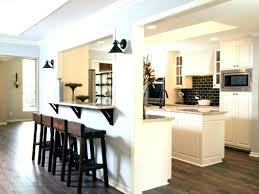 cuisine a l americaine cuisine americaine avec bar idées décoration intérieure