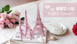 creative valentine u0027s day gift pink paris 3d eiffel tower model